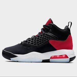 Black / Red Jordan's